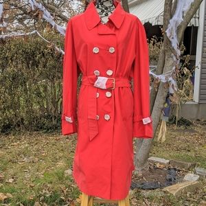 Just In🆕NWOT Stunning Isaac Mizrahi trench